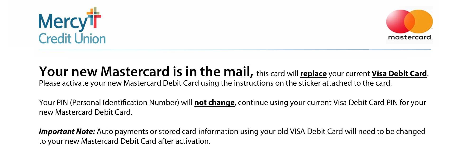Mastercard Debit Announcement
